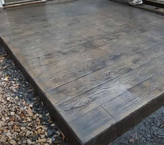 Stamped concrete Bakersfield